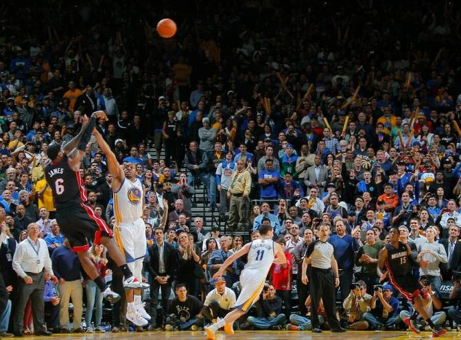Last night's buzzer beaters were wonderful