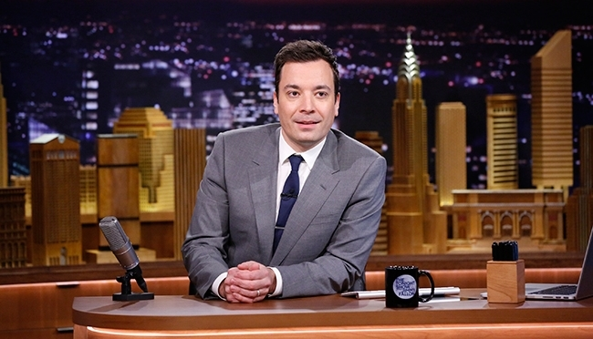 The Tonight Show starring Jimmy Fallon begins!
