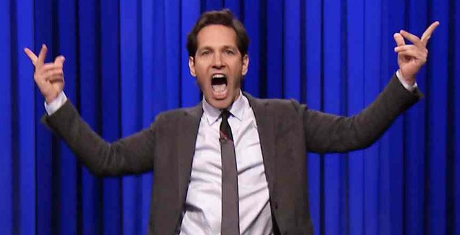 Jimmy Fallon Lip Syncing competition part II – Paul Rudd domination