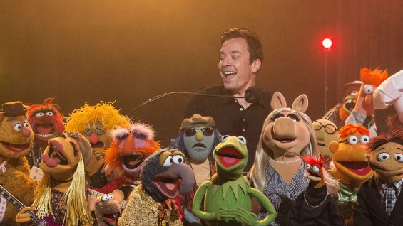 "Jimmy Fallon and the Muppets say goodbye to ""Late Night"""
