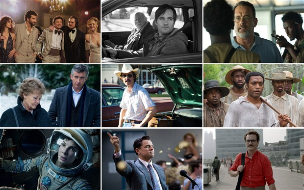 The 2013 Year in Movies – 50 Awards and Superlatives, My Oscar Ballot