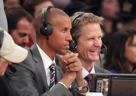 Steve Kerr and Reggie Miller