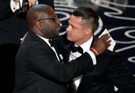 Steve McQueen and Brad Pitt