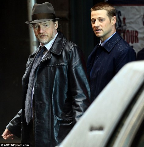 Donal Logue and Ben McKenzie