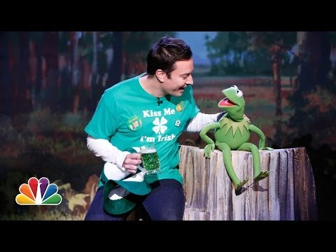 St. Patrick's Day Bliss: Jimmy Fallon and Kermit the Frog