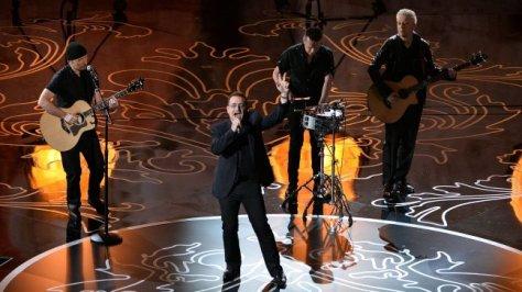 U2 at the Oscars