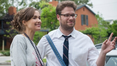 Rose Byrne and Seth Rogen