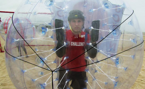 Johnny in a bubble